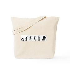 Evolution of Ballroom Dancing Tote Bag