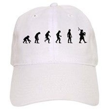 Evolution of Bagpipes Baseball Baseball Cap