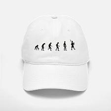 Evolution of Bagpipes Baseball Baseball Cap