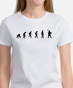 Evolution of Bagpipes Women's T-Shirt