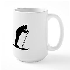 Skiing Evolution Large Mug