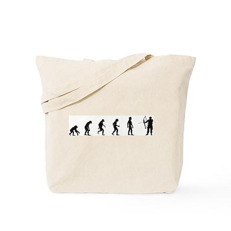 Evolution of Archery Tote Bag