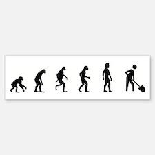 Evolution of Archaeology Bumper Bumper Bumper Sticker