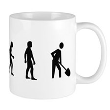Evolution of Archaeology Coffee Mug