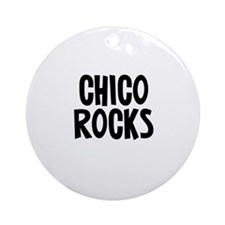 Chico Rocks Ornament (Round)