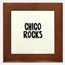 Chico Rocks Framed Tile