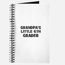 Grandpa's Little 6th Grader Journal