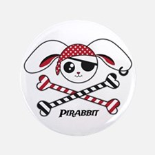 "Pirabbit 3.5"" Button (100 pack)"