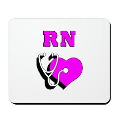 RN Nurses Care Mousepad
