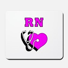 RN Nurses Care Mousepad