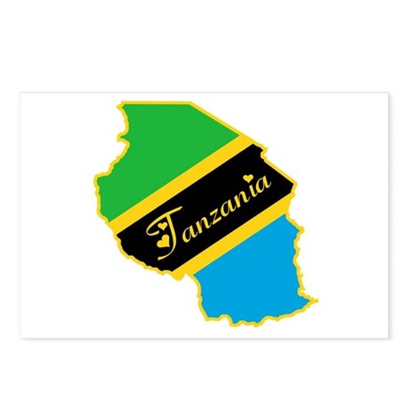 Cool Tanzania Postcards (Package of 8)