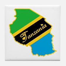 Cool Tanzania Tile Coaster