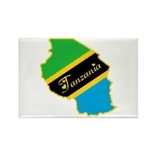 Cool Tanzania Rectangle Magnet