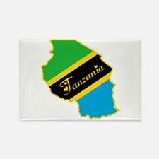 Cool Tanzania Rectangle Magnet