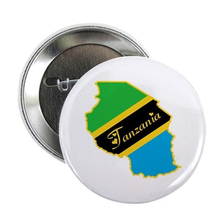 "Cool Tanzania 2.25"" Button (100 pack)"