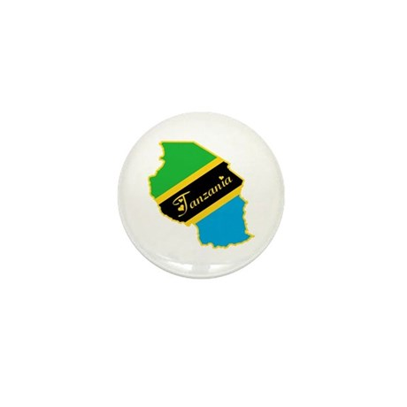 Cool Tanzania Mini Button