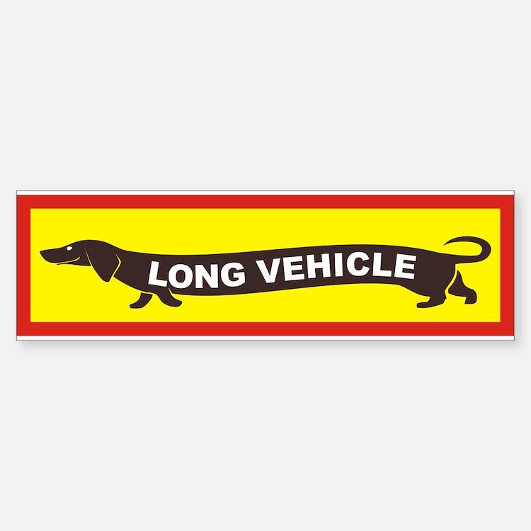 Long Vehicle Bumper Bumper Bumper Sticker