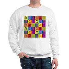 Pop Art Cycling Sweatshirt