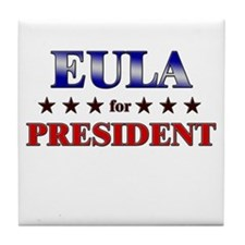 EULA for president Tile Coaster