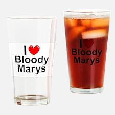 Bloody Marys Drinking Glass
