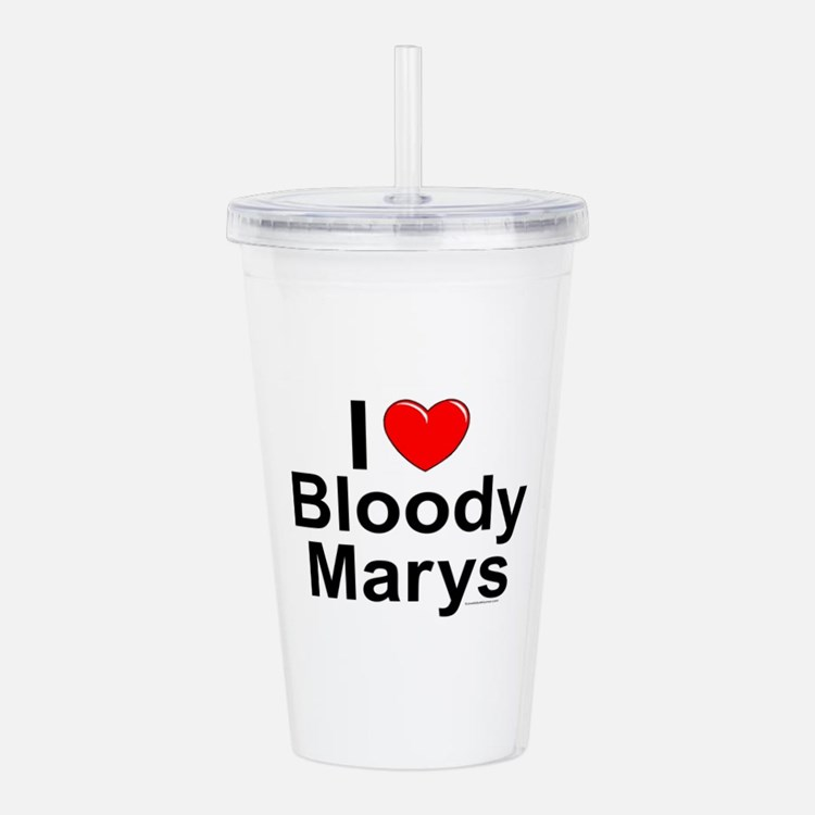 Bloody Marys Acrylic Double-wall Tumbler