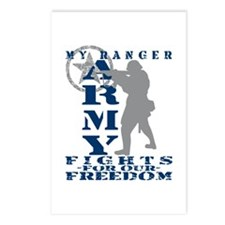 Ranger Fights Freedom - ARMY  Postcards (Package o