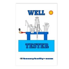 Well Tester Postcards (Package of 8)