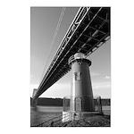 George Washington Bridge Postcards (8)