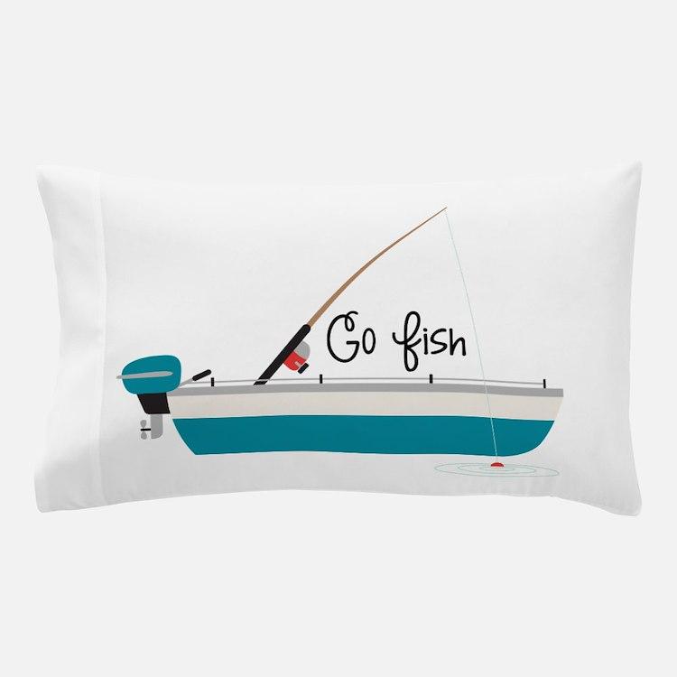 Go Fish Pillow Case