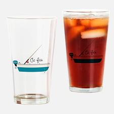 Go Fish Drinking Glass