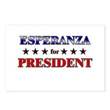 ESPERANZA for president Postcards (Package of 8)