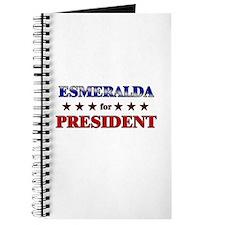 ESMERALDA for president Journal