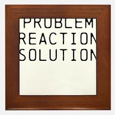 Problem Reaction Solution Framed Tile