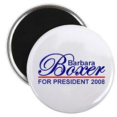 BARBARA BOXER 2008 Magnet