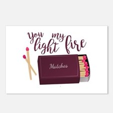 Light My Fire Postcards (Package of 8)