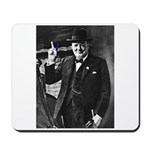 Purple Revolution Churchill 3 Mousepad