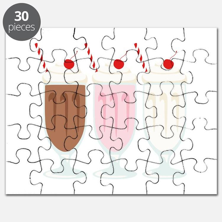 Milkshakes Puzzle