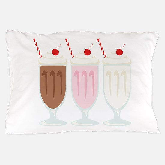 Milkshakes Pillow Case