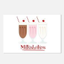 Milkshakes Postcards (Package of 8)
