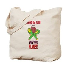 Meeno the Alien Tote Bag