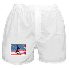 Ice Skating In America Boxer Shorts