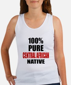 100 % Pure Central African Native Women's Tank Top