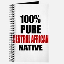 100 % Pure Central African Native Journal