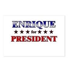 ENRIQUE for president Postcards (Package of 8)