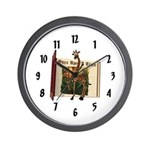 Gerry Giraffe Wall Clock