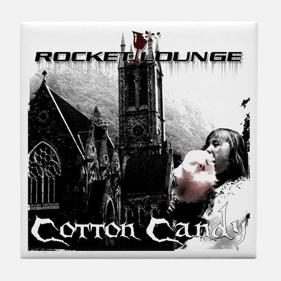 Cotton Candy Tile Coaster