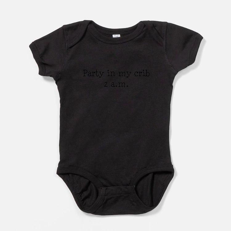 Cute Infant cribs Baby Bodysuit