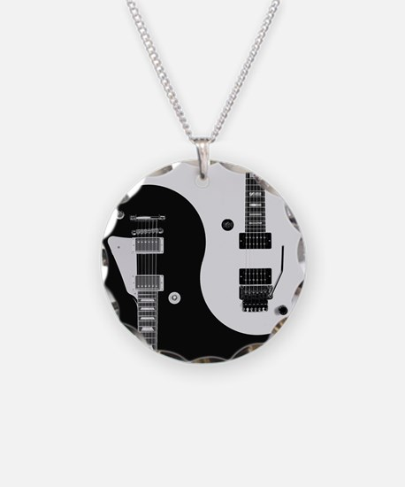 Guitar Yin Yang Necklace