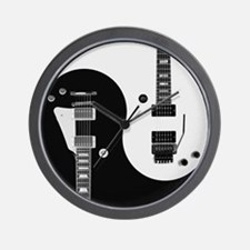 Guitar Yin Yang Wall Clock