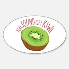 Sound Off Kiwi Decal